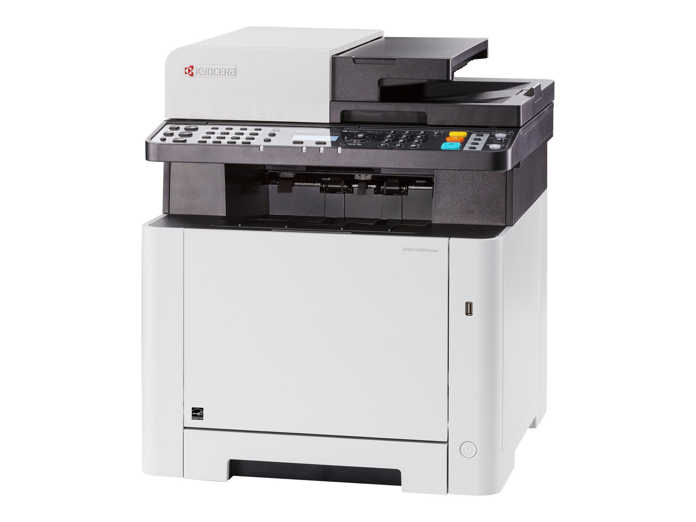 Kyocera ECOSYS M5521cdw/KL3 - Multifunktionsdrucker - Farbe - Laser - Legal (216 x 356 mm)/