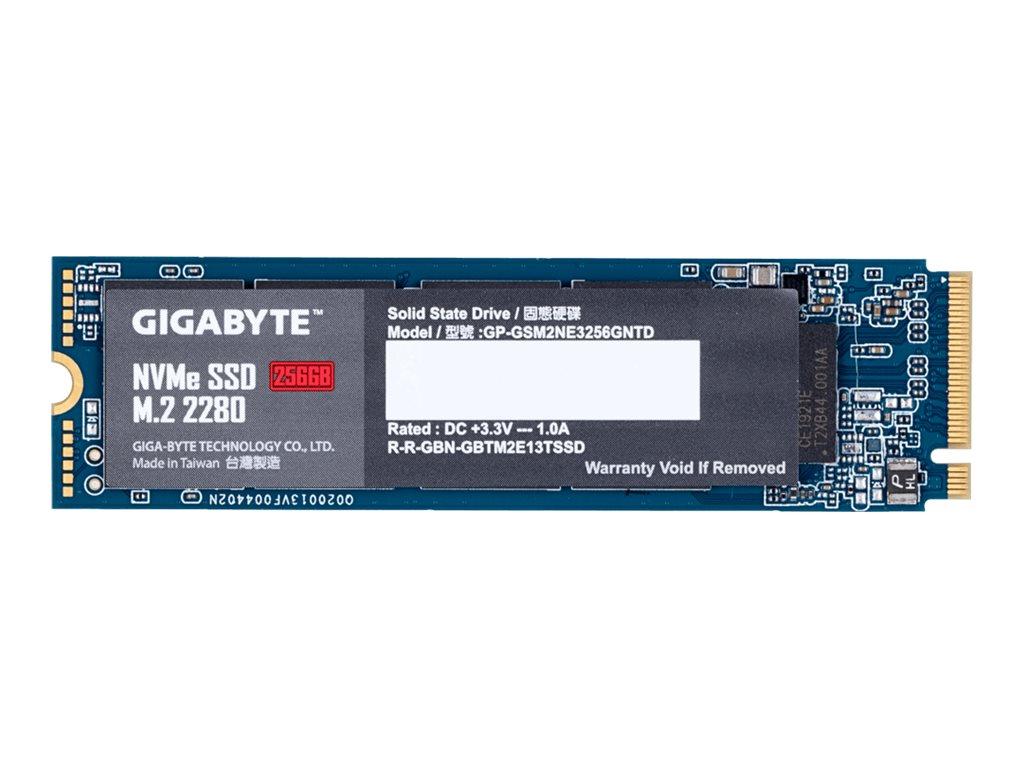 Gigabyte 256 GB SSD - intern - M.2 2280 - PCI Express 3.0 x4 (NVMe)