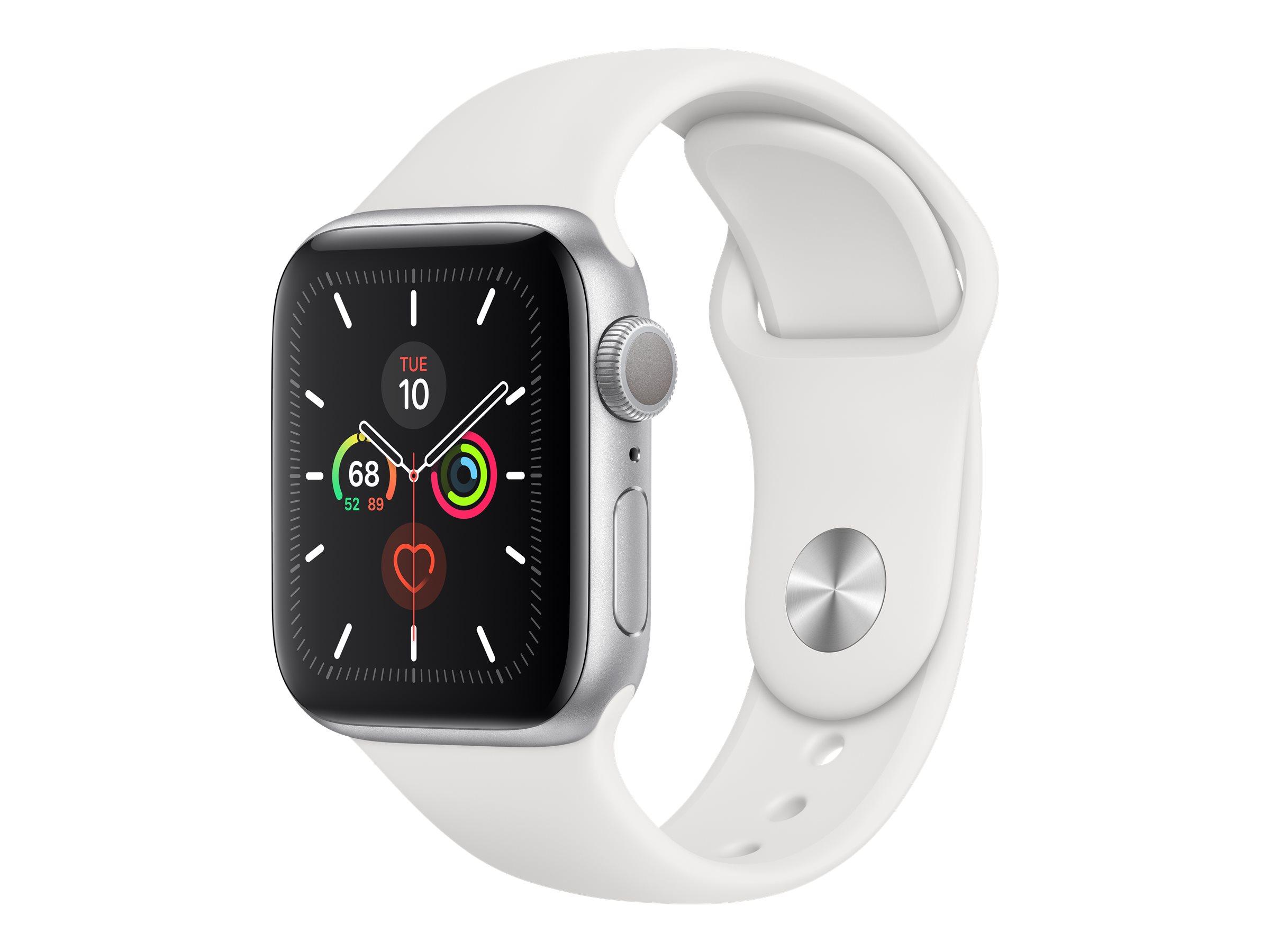 Apple Watch Series 5 (GPS) - 40 mm - Aluminium, Silber
