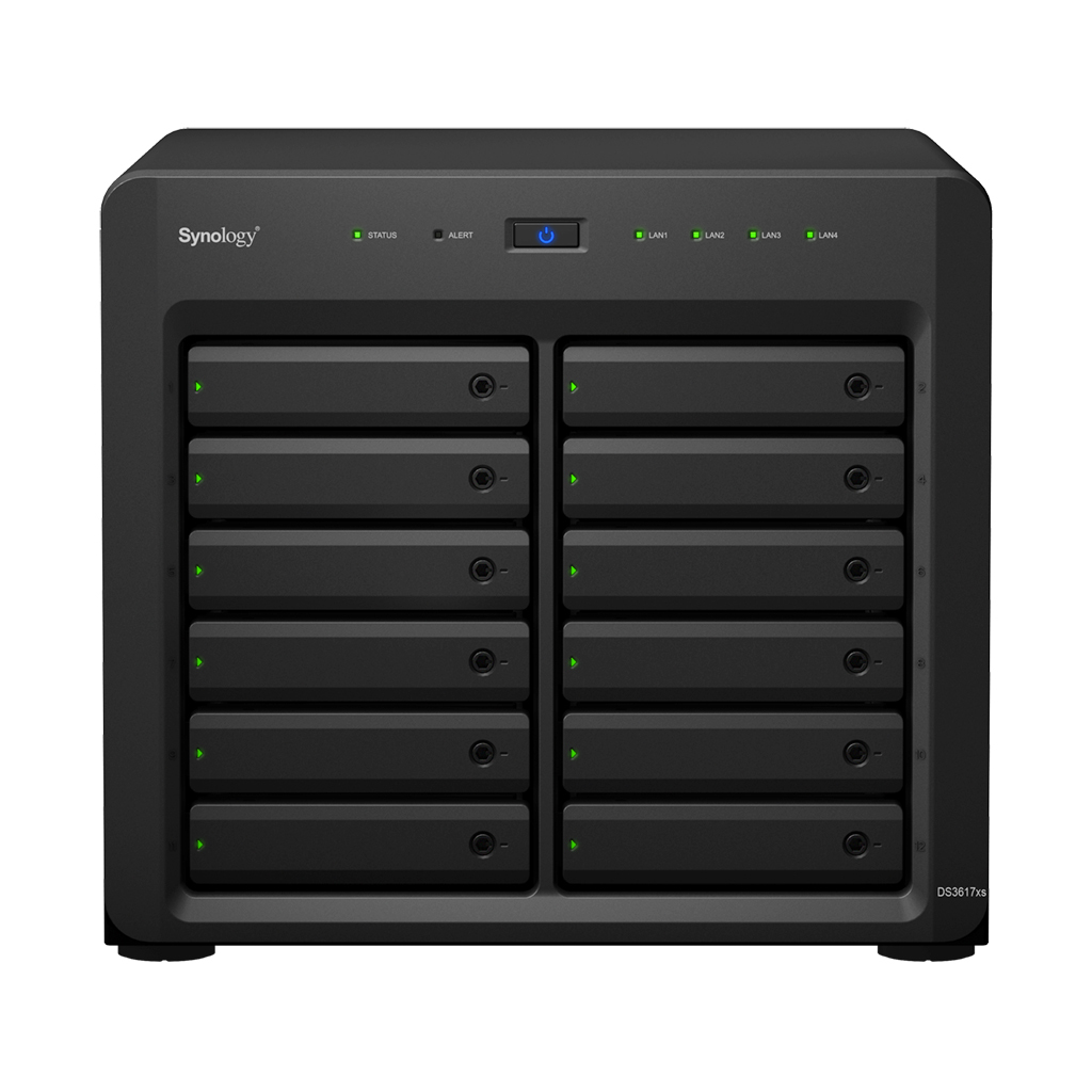 Synology NAS Disk Station DS3617xs 12 Bay - Storage Server - NAS