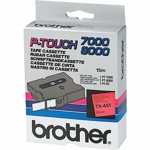 Brother TX Etiketten / Beschriftungsbänder