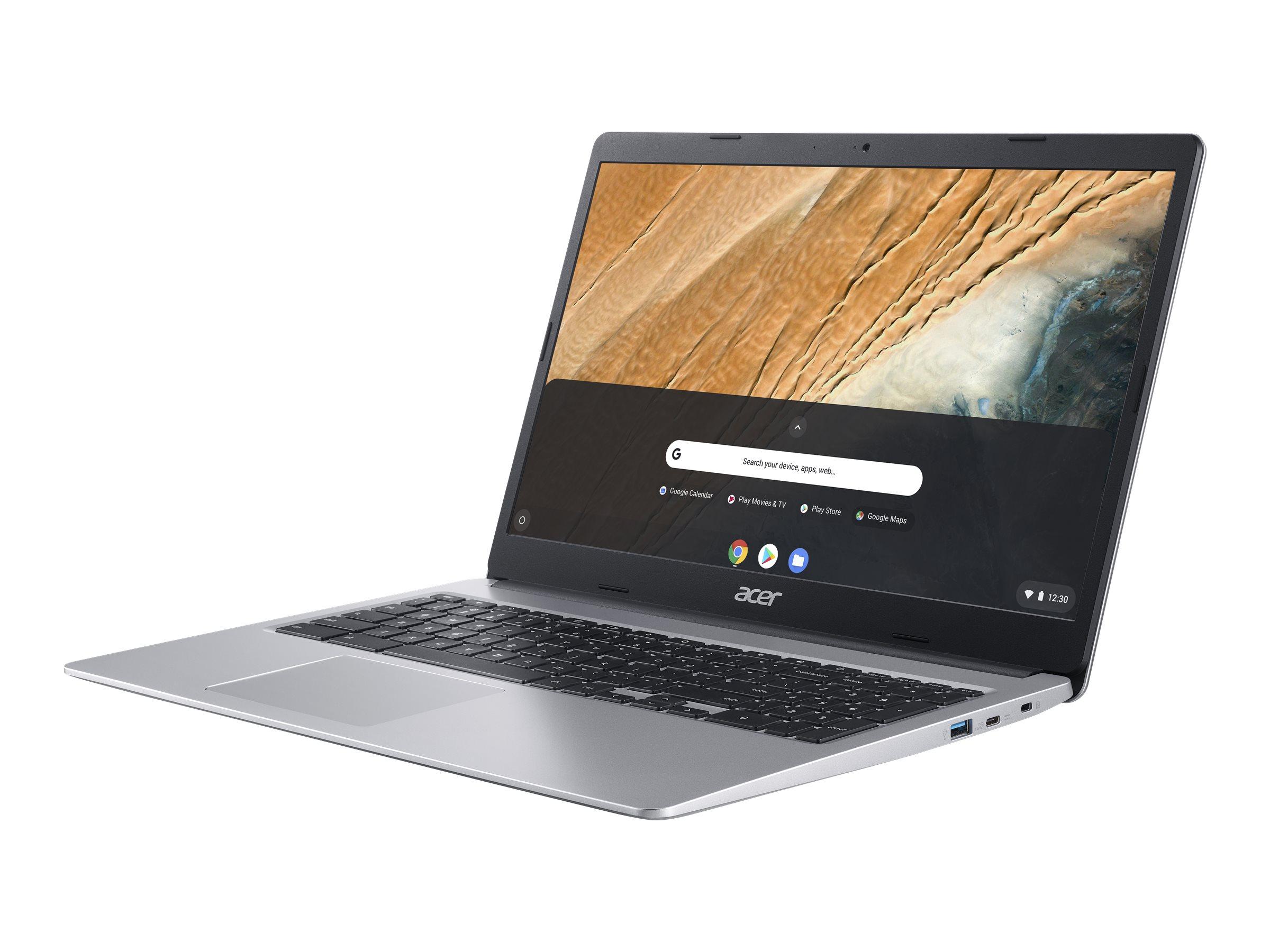 "Acer Chromebook 315 CB315-3HT-C4GR - Celeron N4120 / 1.1 GHz - Chrome OS - 4 GB RAM - 64 GB eMMC - 39.62 cm (15.6"")"