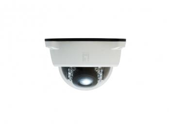 LevelOne PT Dome Network Camera,2-Megapixel - Outdoor - PoE 802.3af - Day & Night - IR LEDs - WDR