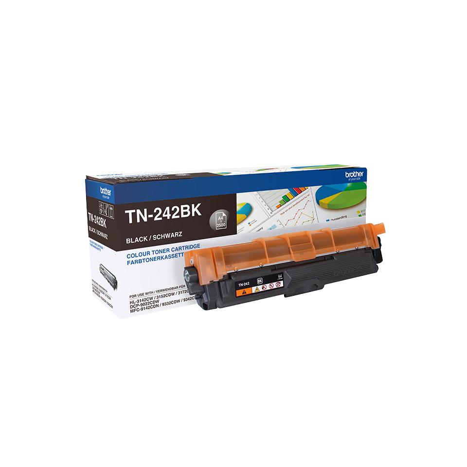 Brother TN-242BK Lasertoner 2500Seiten Schwarz Lasertoner / Patrone