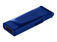 49327 USB-Stick 32 GB 2.0 USB-Anschluss Typ A Blau - Rot