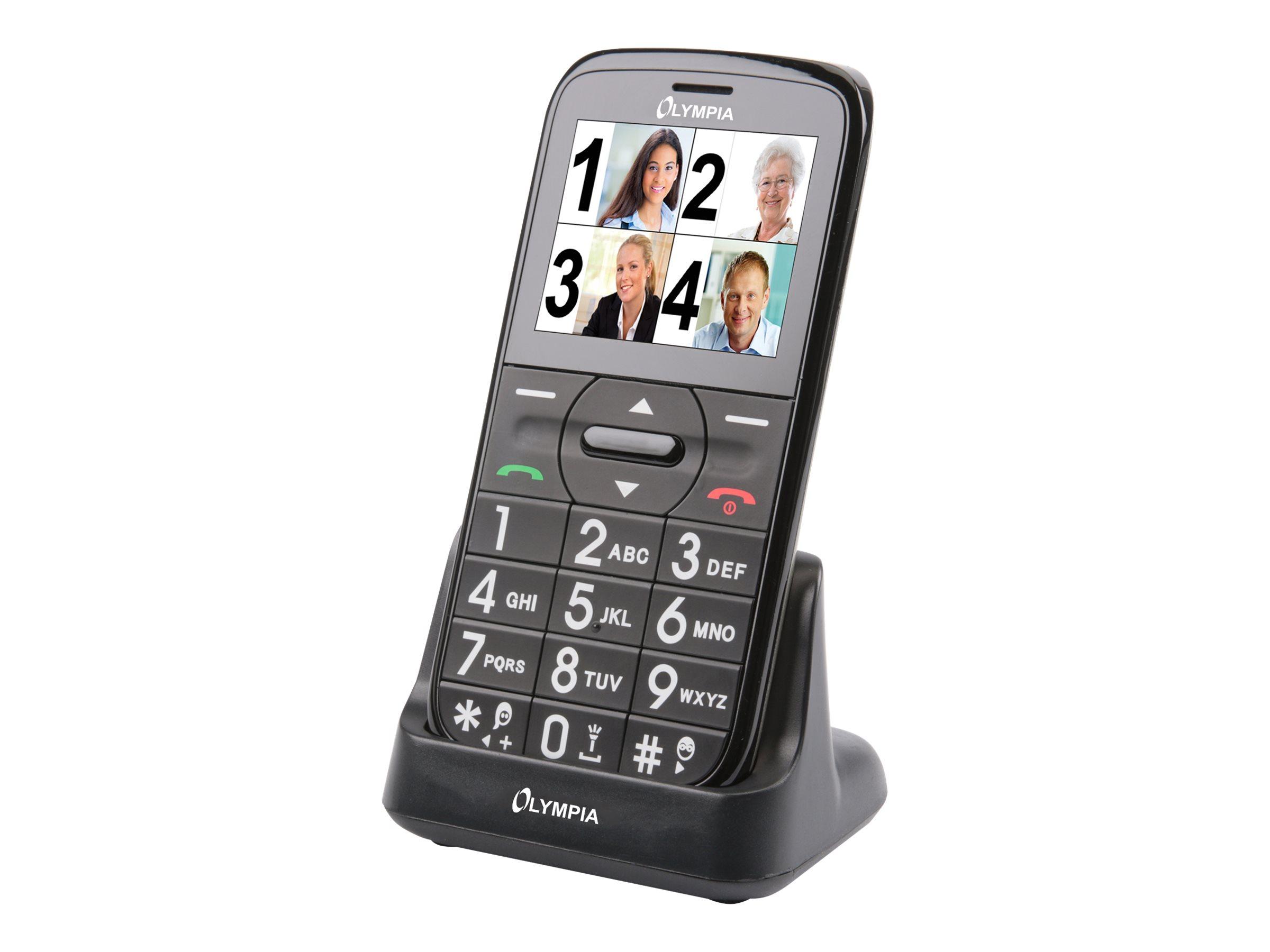 Olympia Happy II - Mobiltelefon - Dual-SIM - microSDHC slot