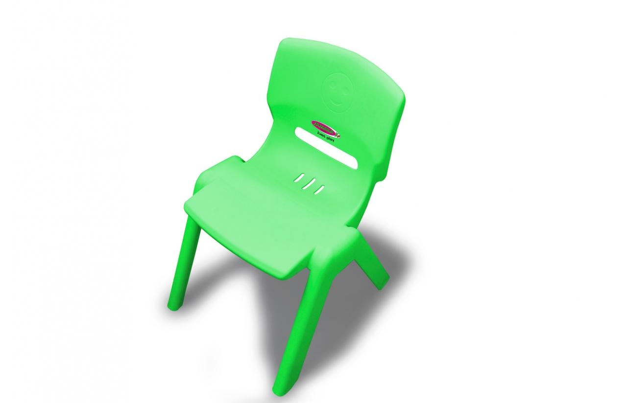 JAMARA Kinderstuhl Smiley bis 100 kg grün - Baby-/Kinderstuhl - Kunststoff - Grün - 100 kg