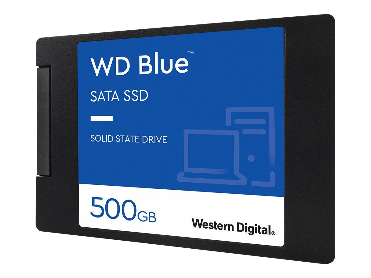"""WD Blue 3D NAND SATA SSD WDS500G2B0A - 500 GB SSD - intern - 2.5"""" (6.4 cm)"""