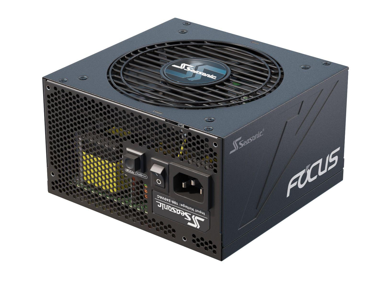 Vorschau: Seasonic Focus GX-1000 - 1000 W - 100 - 240 V - 50/60 Hz - 13 - 6.5 A - 125 W - 996 W