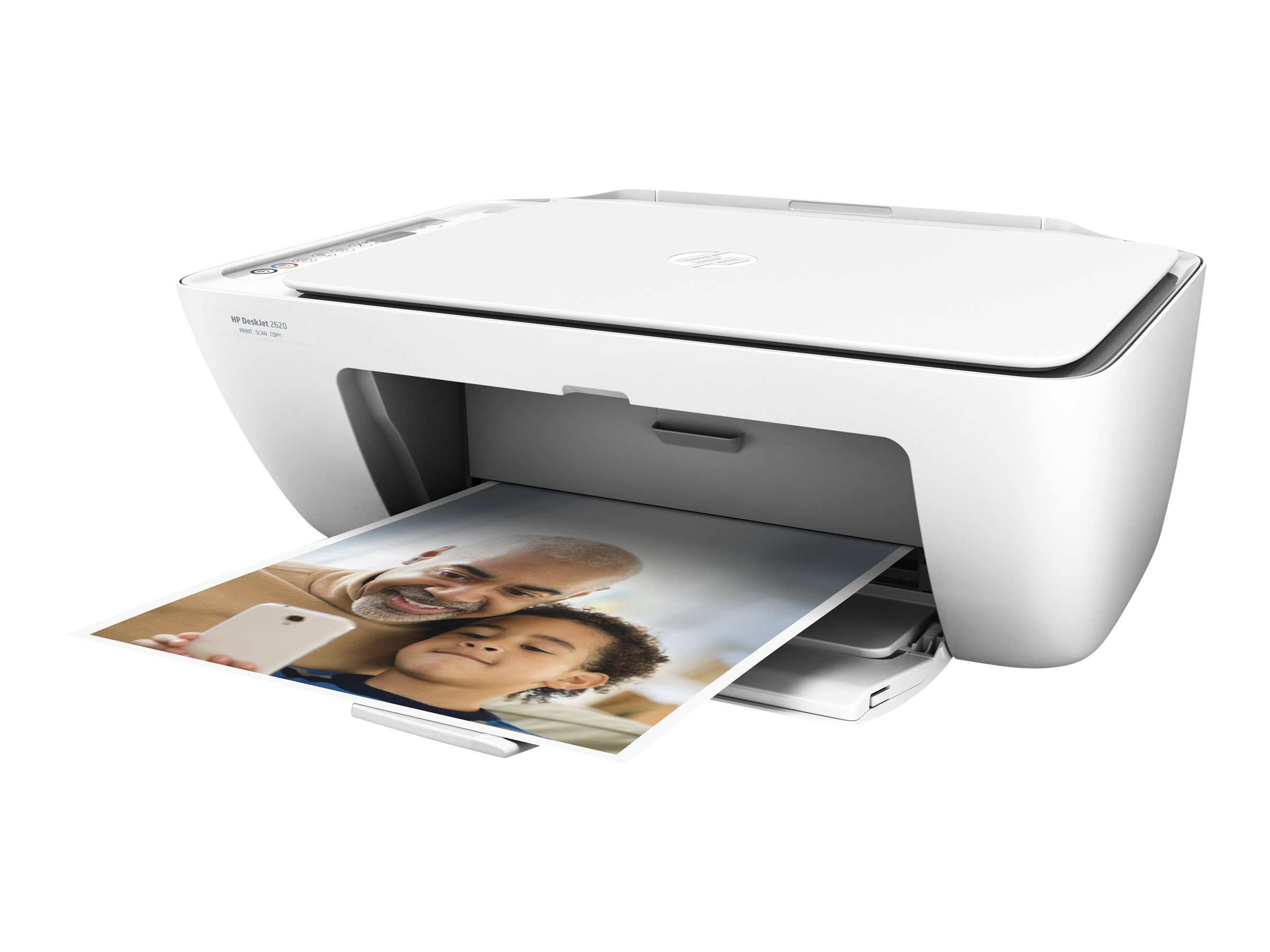 HP Deskjet 2620 All-in-One - Multifunktionsdrucker - Farbe - Tintenstrahl - 216 x 297 mm (Original)