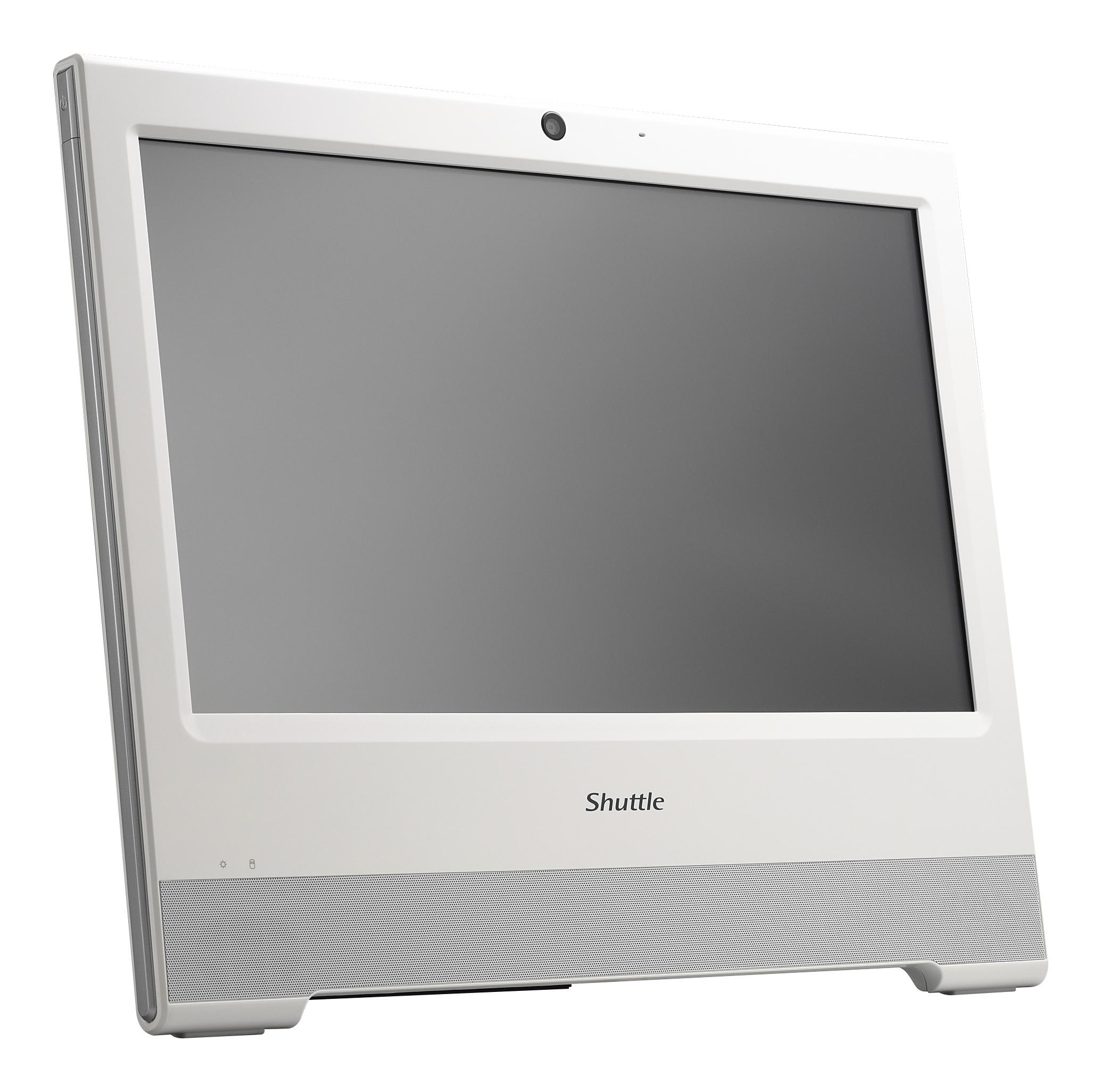 Shuttle XPC X5060XA 1.8GHz 3865U 15.6Zoll 1366 x 768Pixel Touchscreen Weiß All-in-One-PC