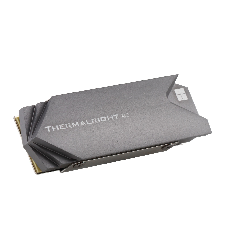 Thermalright TR M.2 2280 - Solid-State-Laufwerk - Kühlkörper - 1 Stück(e) - Grau - Silber - Aluminium - 75 mm
