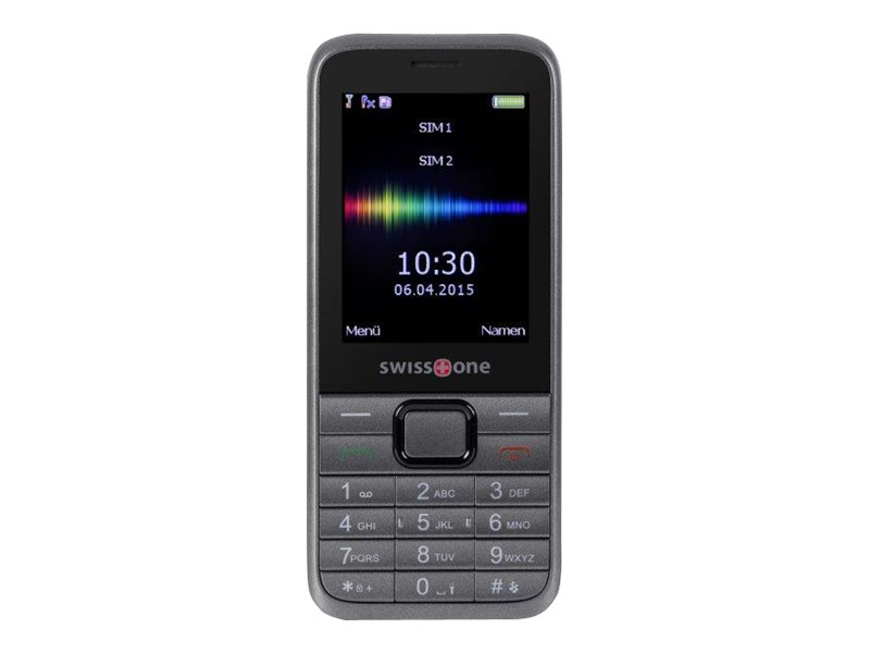 Doro swisstone SC 560 Dual-SIM grau 1.3MP GSM Mobiltelefon - Mobiltelefon - 100 mAh