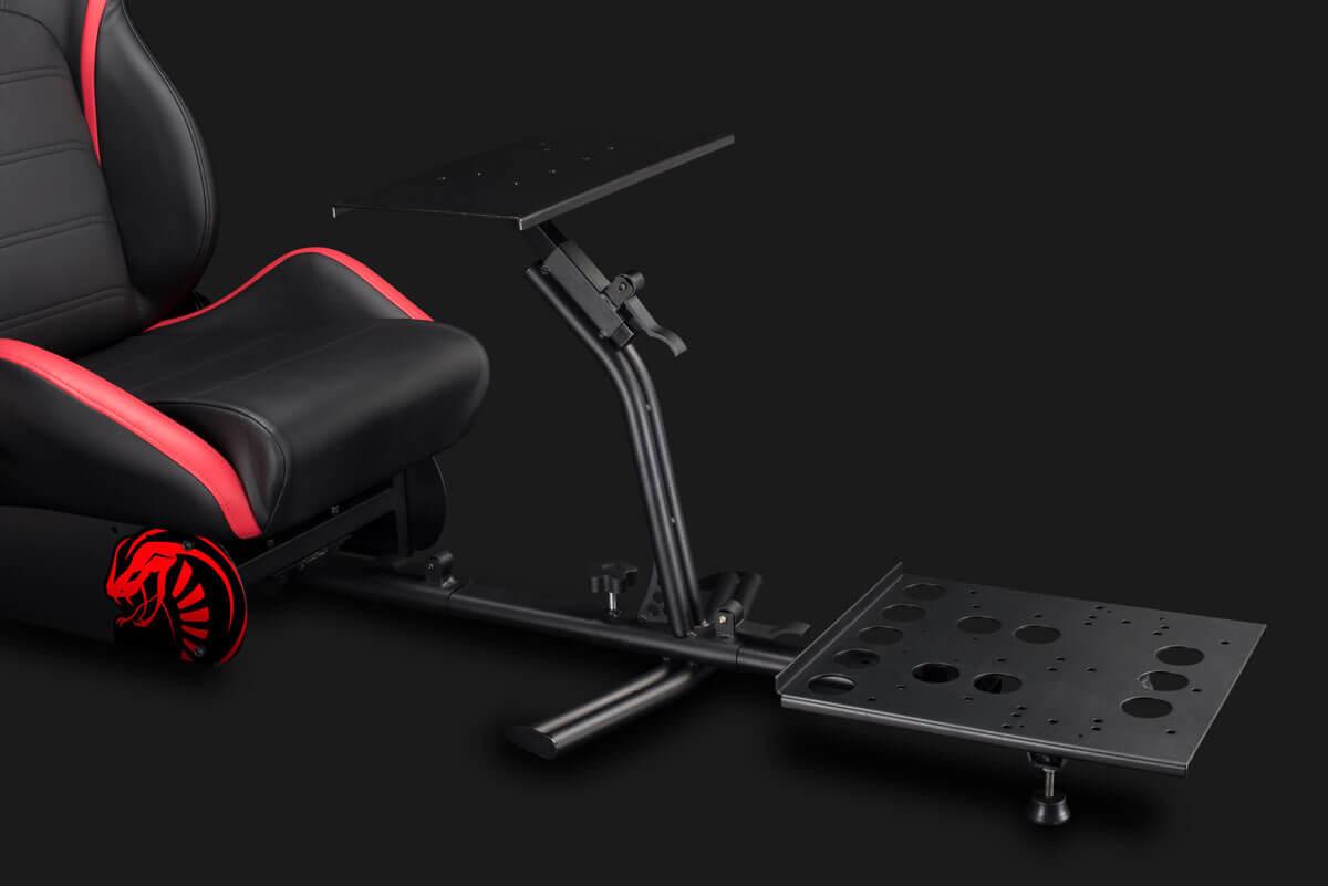 Nitho Cobra RM-1 S - Universal-Gamingstuhl - Universal - Schwarz - Rot