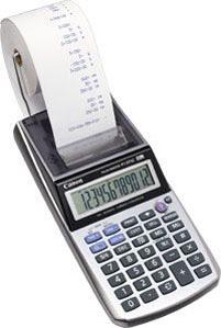 Canon P1-DTSC HWB Desktop Finanzrechner Metallisch - Silber