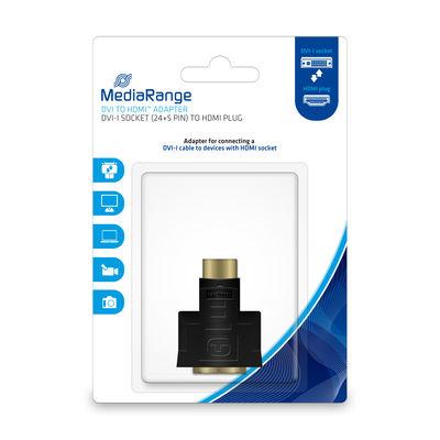 MEDIARANGE MRCS171 - HDMI - DVI-I - Männlich/Weiblich - Schwarz