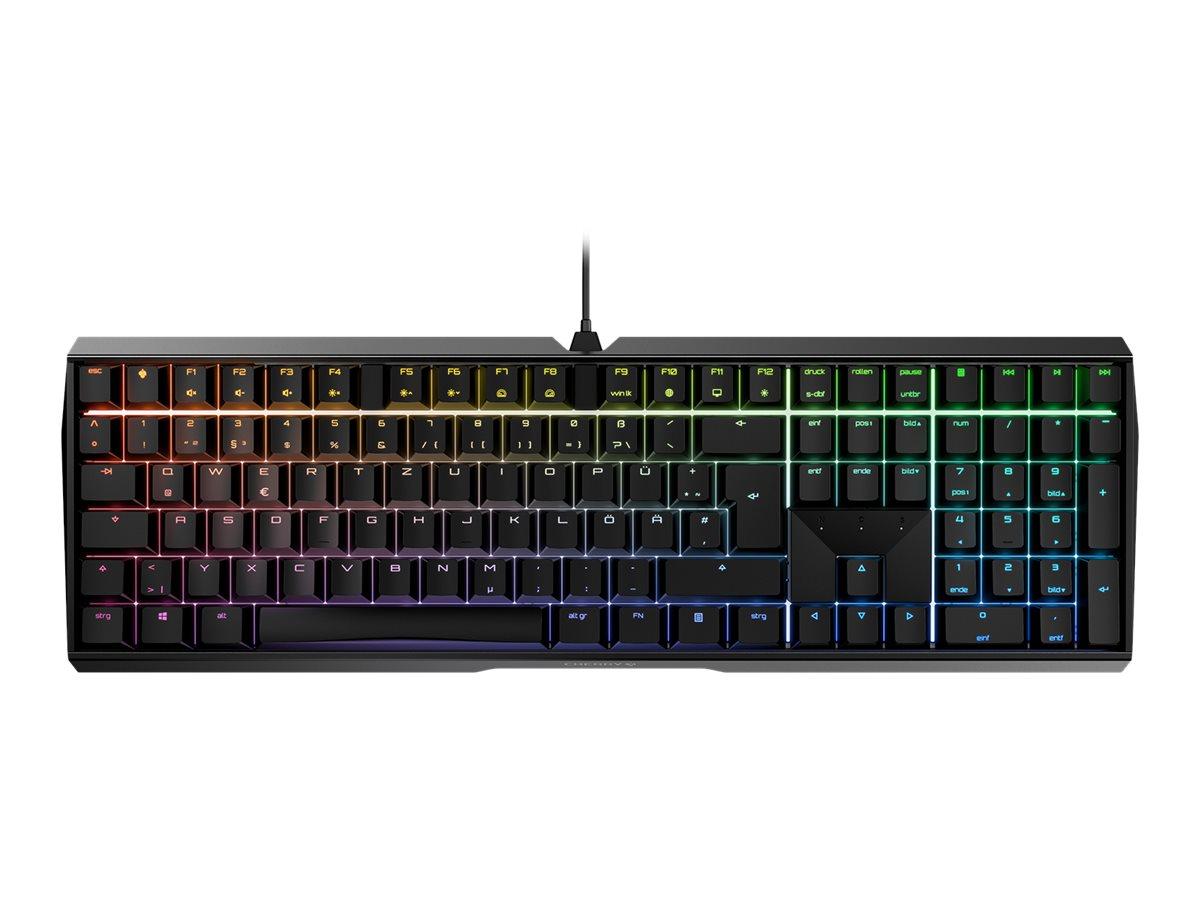 Cherry MX-Board 3.0 S - Tastatur - backlit - MX Silent Red - USB