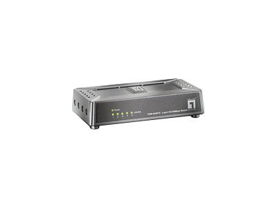 LevelOne FSW-0508TX - Switch - unmanaged - 5 x 10/100