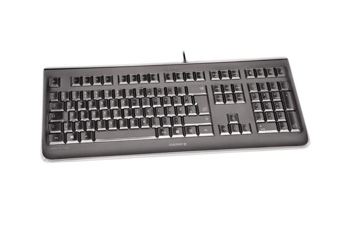 Cherry KC 1068 - Tastatur - USB - Schweiz - Schwarz