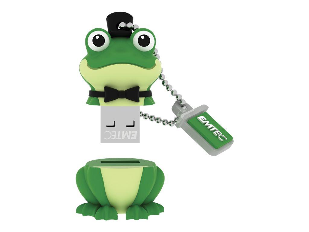 EMTEC Novelty 3D M339 Crooner Frog - USB-Flash-Laufwerk