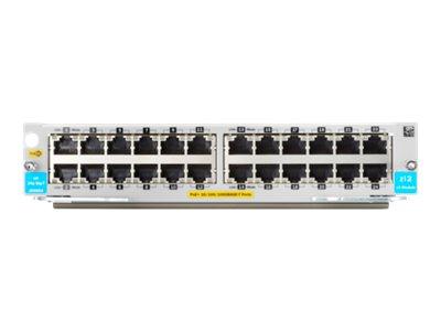 HPE 24p 10/100/1000BASE-T PoE+ v3 zl2 Module (J9986A)