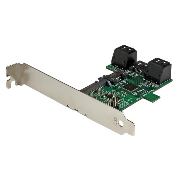 StarTech.com 1 Port auf 5 Port SATA Schnittstellenkarte - Serial ATA 6 Gbs Controller
