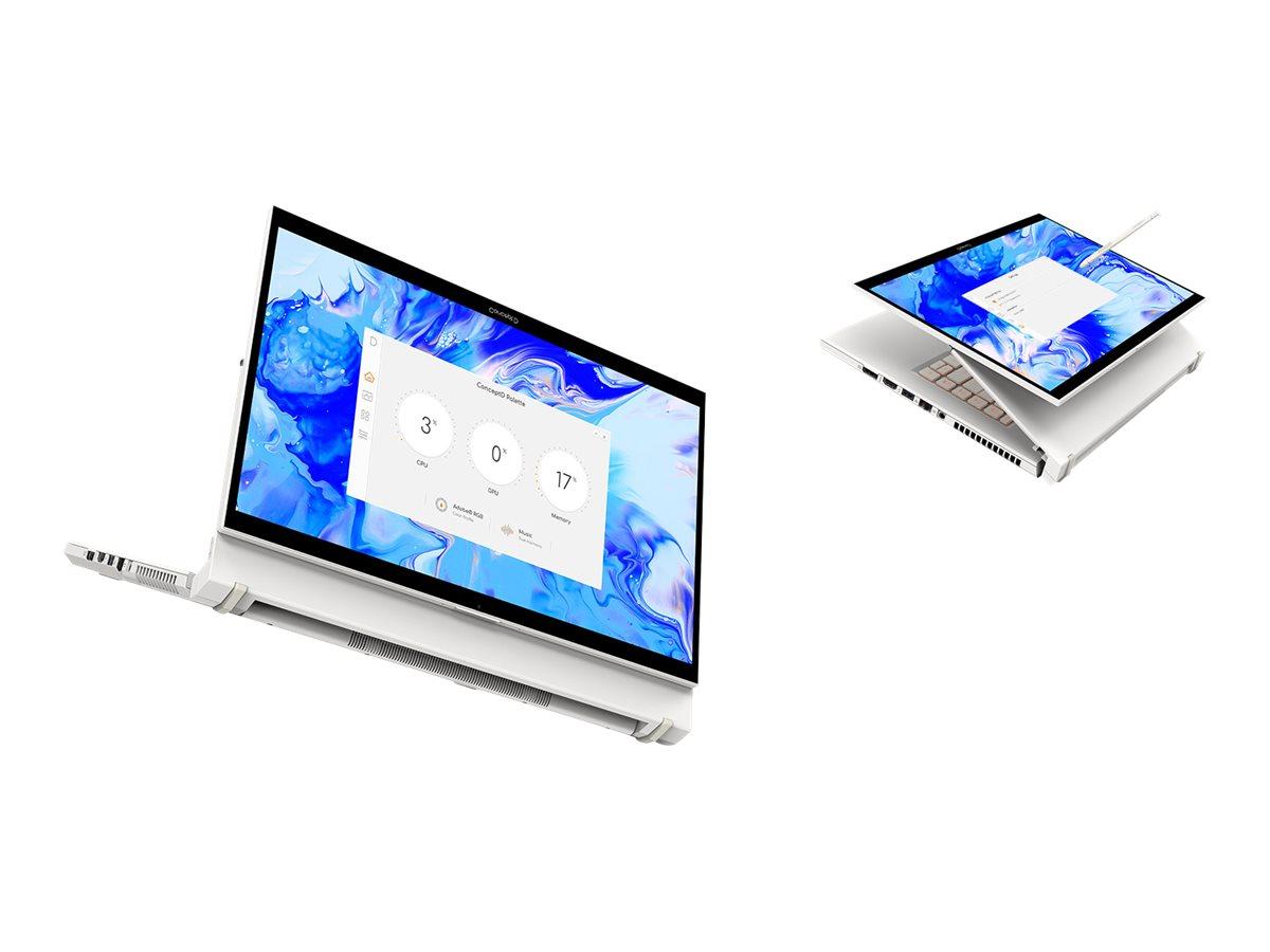 "Acer ConceptD 7 Ezel CC715-71-73AW - Slider - Core i7 10750H / 2.6 GHz - Win 10 Pro 64-Bit - 32 GB RAM - 1.024 TB SSD SED - 39.6 cm (15.6"")"