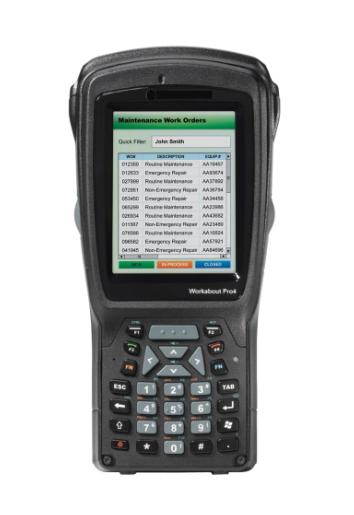 Zebra WAP4 SHORT CE 6.0 EN 1D LAS 802.11 A/B/G - 9,4 cm (3.7 Zoll) - 640 x 480 Pixel - 512 MB - RAM - MicroSD (TransFlash) - 4000 MB
