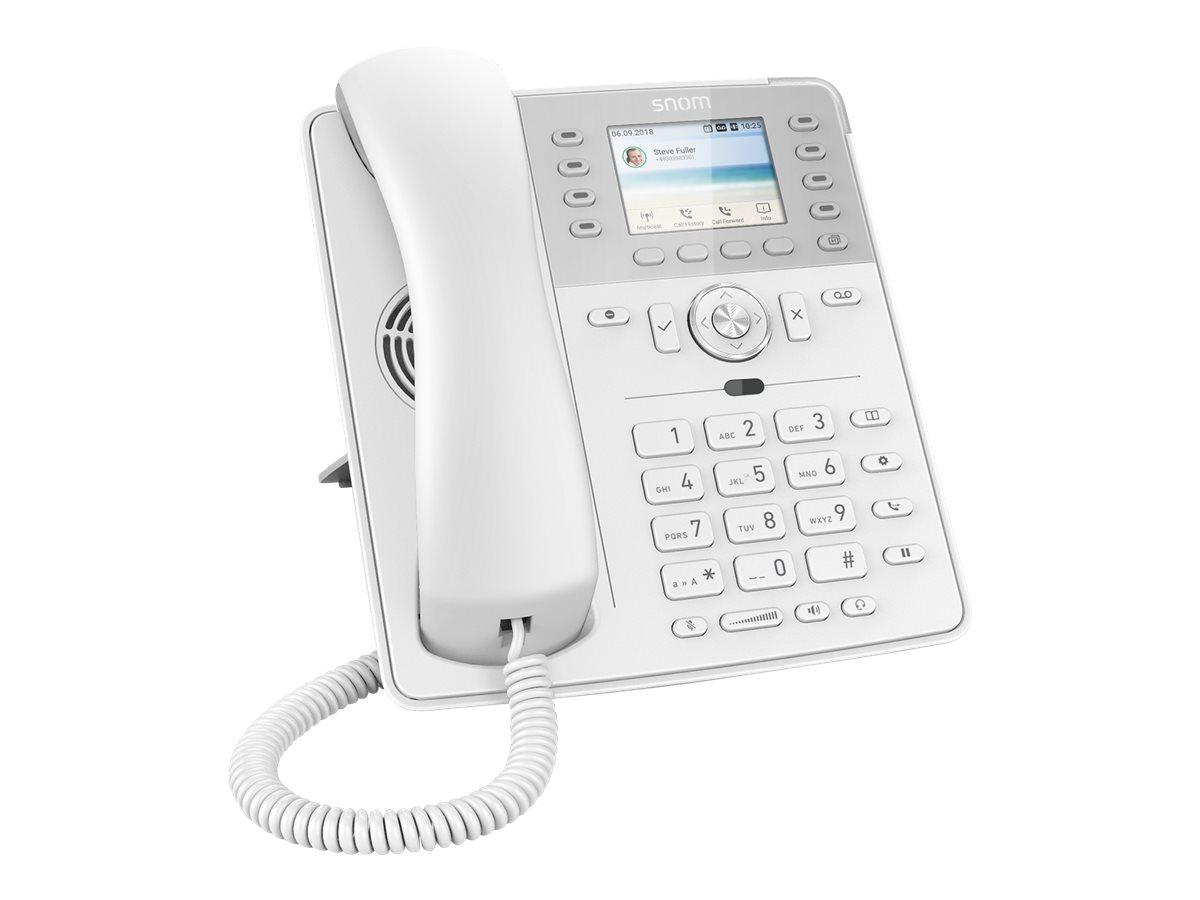 Snom D735 - VoIP-Telefon - dreiweg Anruffunktion