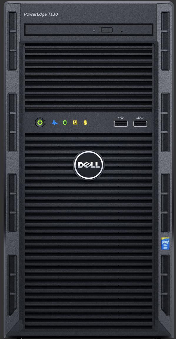 Dell PowerEdge T130 3GHz E3-1220V6 290W Mini Tower Server