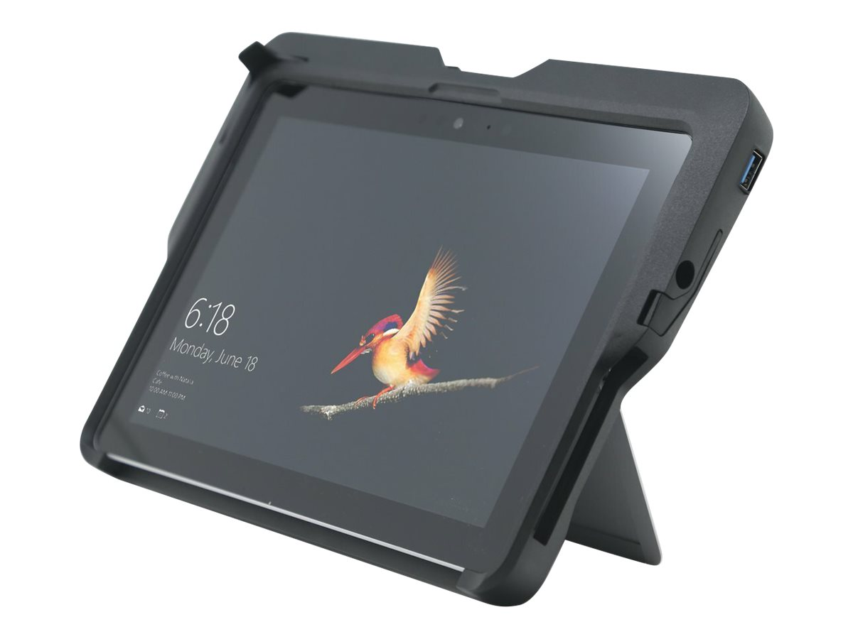 Kensington BlackBelt Rugged Case with Integrated CAC Reader for Surface Go and Surface Go 2 (K97320WW)