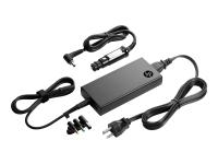 90W Slim Combo Adapter w/ USB Netzteil & Spannungsumwandler Automatisch / Innen Schwarz