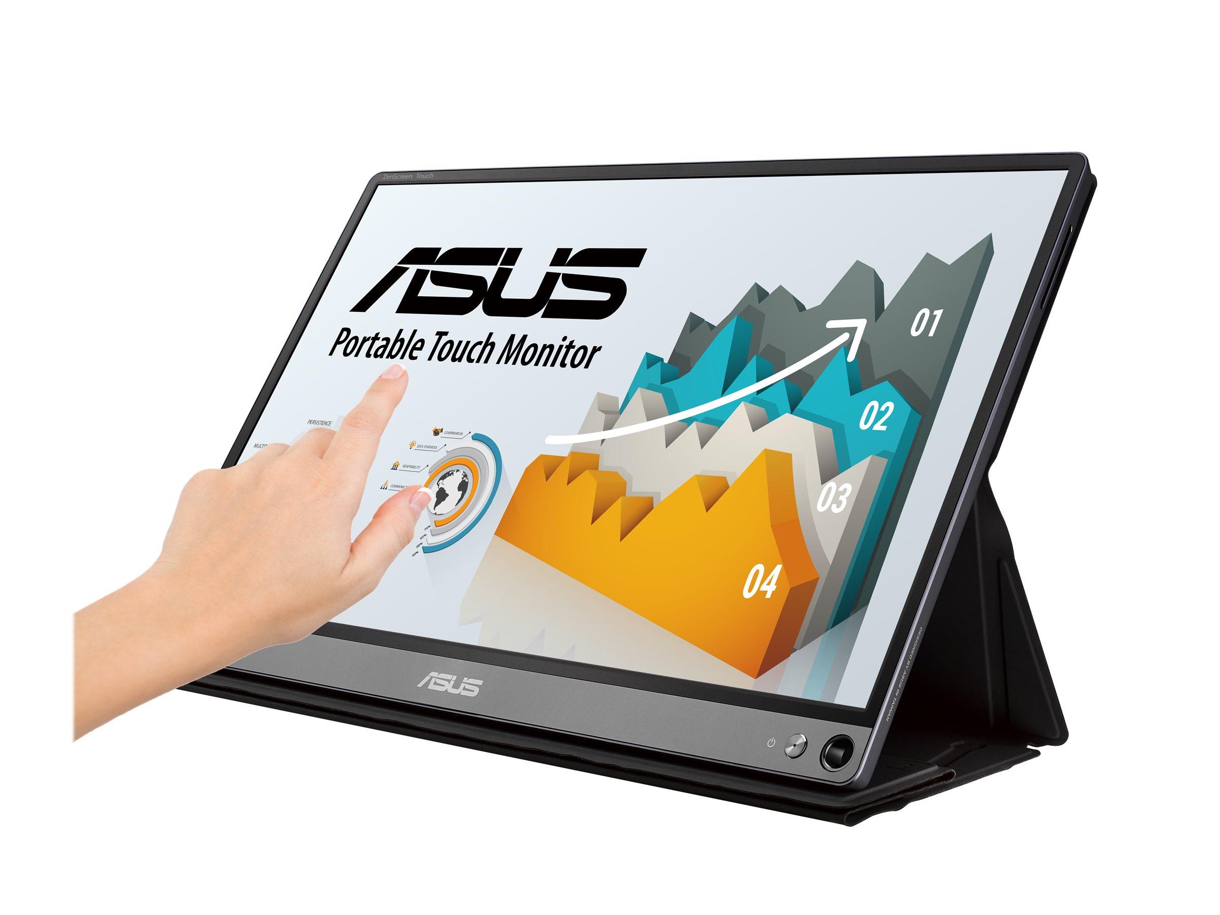 "Vorschau: ASUS ZenScreen Touch MB16AMT - LCD-Monitor - 39.6 cm (15.6"")"