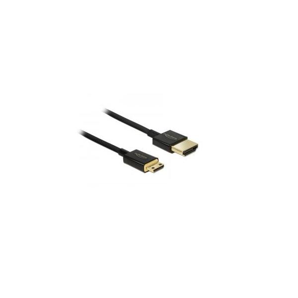 standard Hdmi Type 0.5 M Hdmi Cable Hdmi Type A Delock 84787 Hdmi-a/hdmi-c
