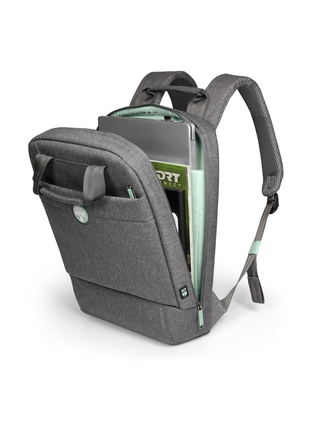 PORT Designs YOSEMITE Eco - Rucksack - 35,6 cm (14 Zoll) - Schultergurt - 530 g