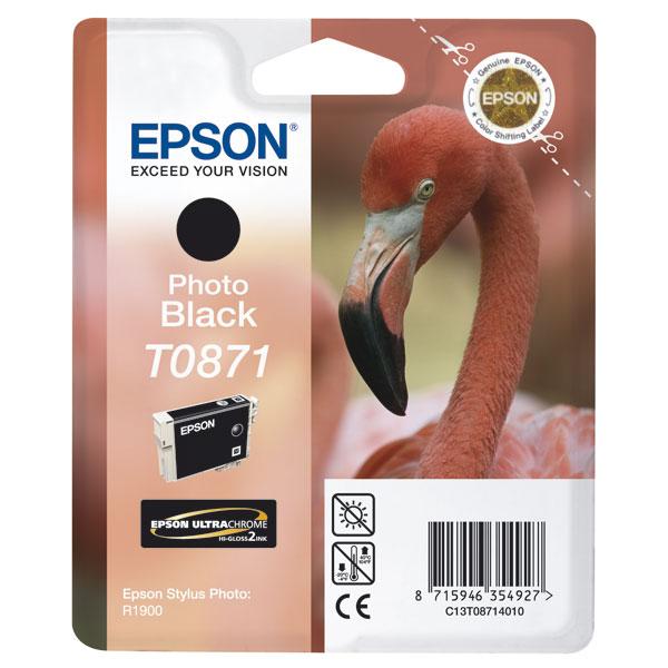 Epson T0871 - Druckerpatrone - 1 x Photo schwarz