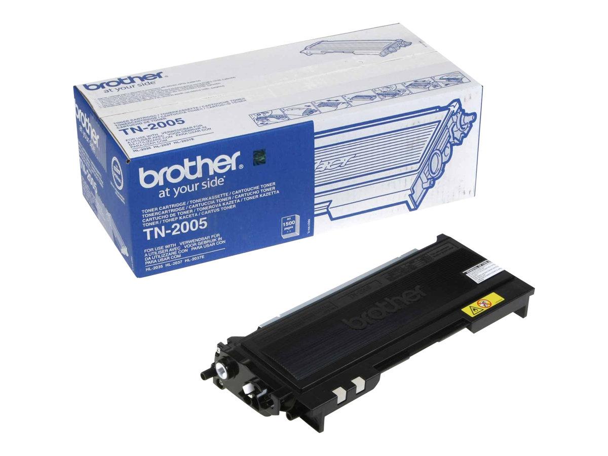 Brother TN-2005 - Schwarz - Original - Tonerpatrone
