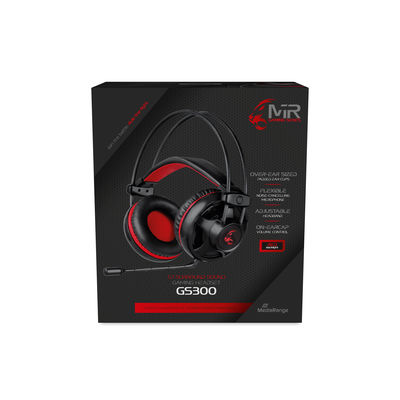 Vorschau: MEDIARANGE kabelgeb.Gaming-Headset mit 5.1 Surround-Sound