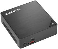 GB-BRI3-8130 PC/Workstation Barebone 2,2 GHz i3-8130U 0,46L Größe PC Schwarz
