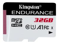 High Endurance - 32 GB - MicroSD - Klasse 10 - UHS-I - 95 MB/s - 30 MB/s