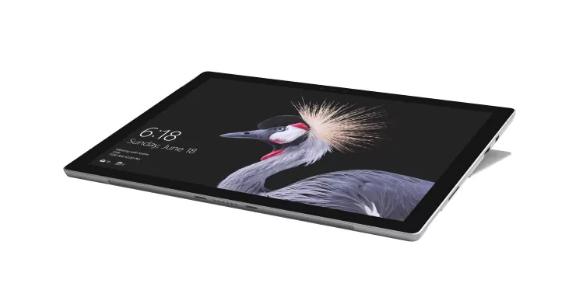Microsoft Surface Pro - 31,2 cm (12.3 Zoll) - 2736 x 1824 Pixel - 256 GB - 8 GB - 2,60 GHz - Platin