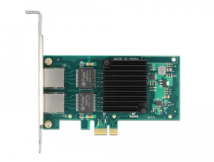 Delock 88502 - Eingebaut - Verkabelt - PCI Express - Ethernet - 4000 Mbit/s