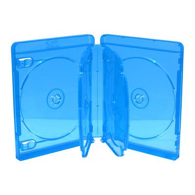 MEDIARANGE BOX38-6-30 - DVD-Hülle - 6 Disks - Blau - Kunststoff - 120 mm - 134 mm
