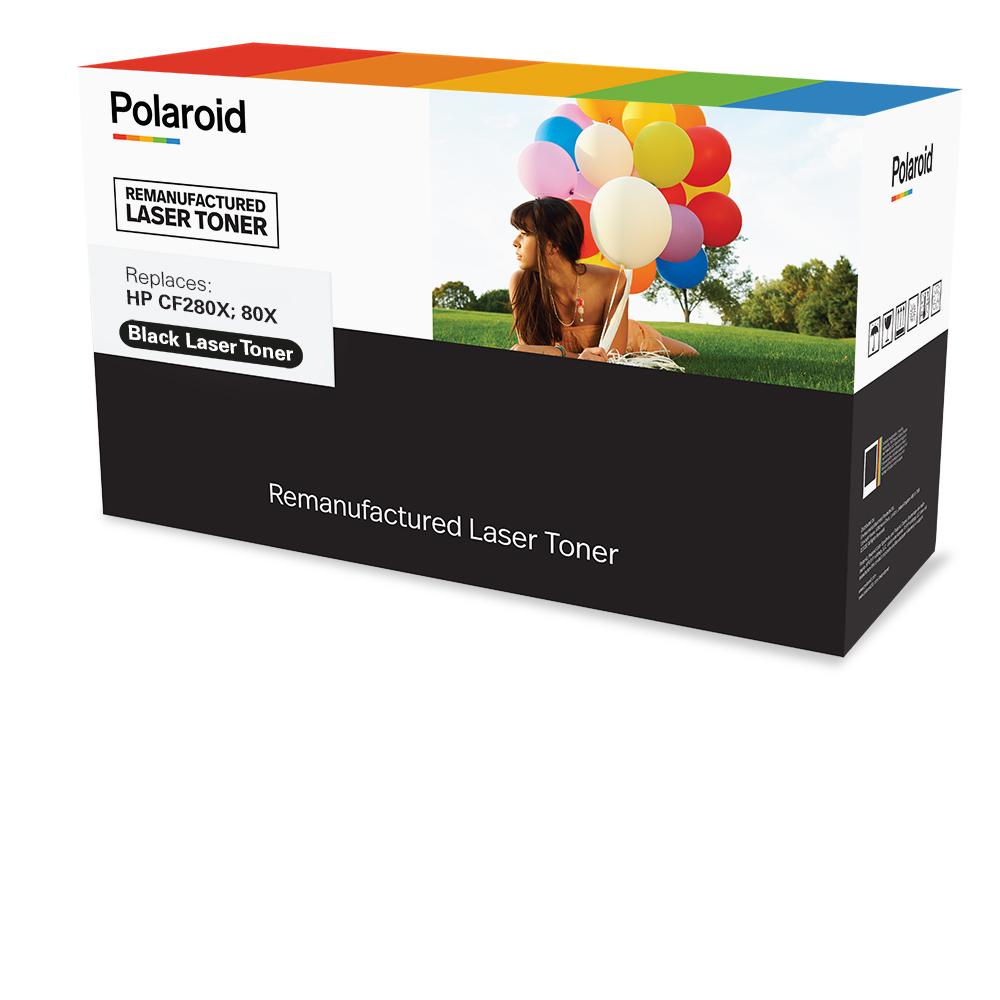 Polaroid Schwarz - kompatibel - Box - wiederaufbereitet