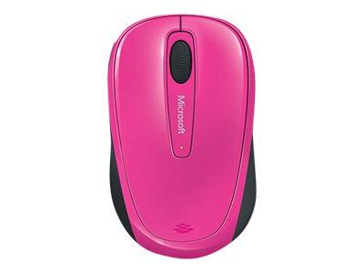 Microsoft Wireless Mobile Mouse 3500 - Maus - rechts- und linkshändig - optisch - 3 Tasten - kabellos - 2.4 GHz - kabelloser Empfänger (USB)