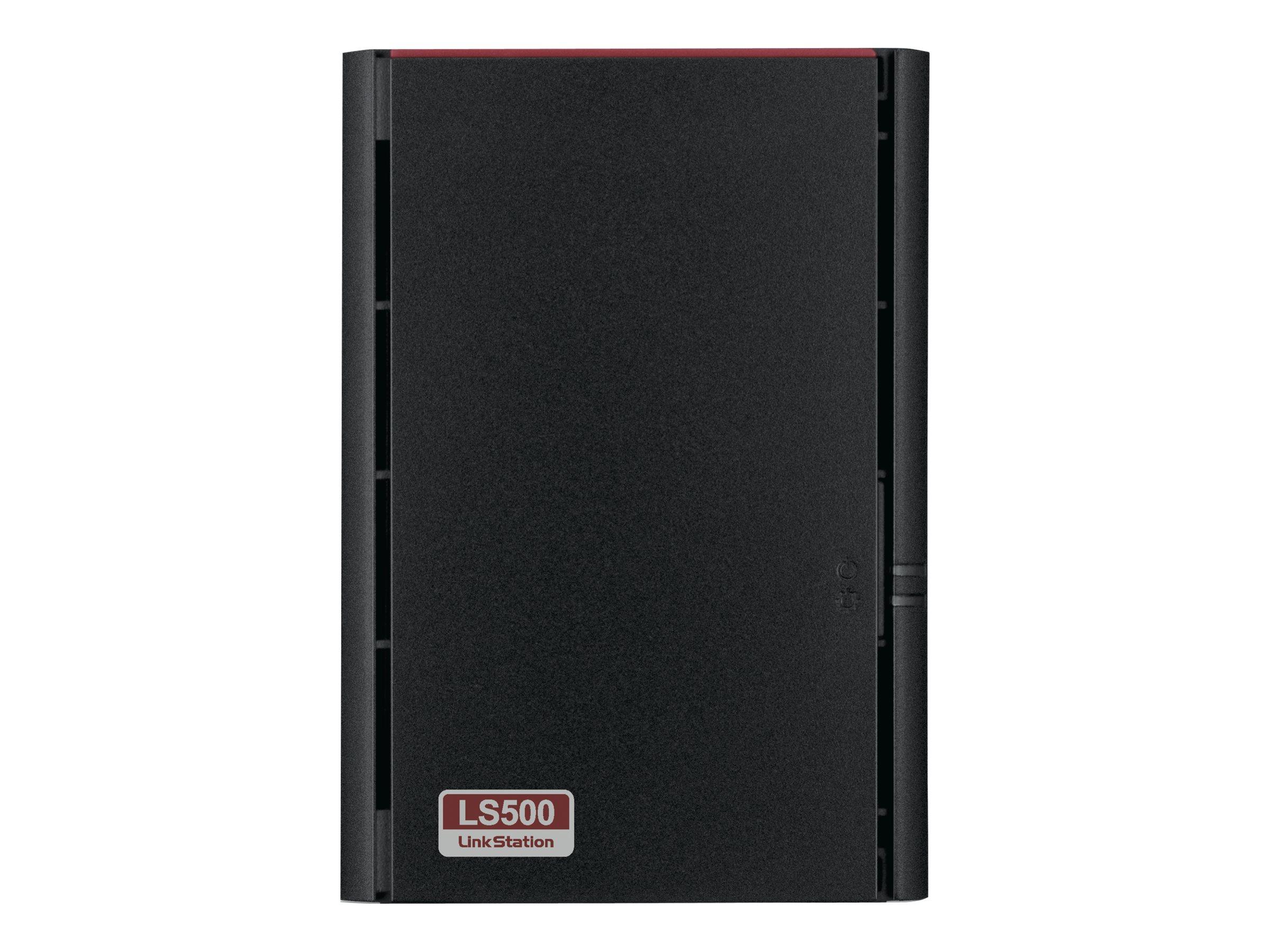 Buffalo LinkStation 520D - NAS-Server - 2 Schächte