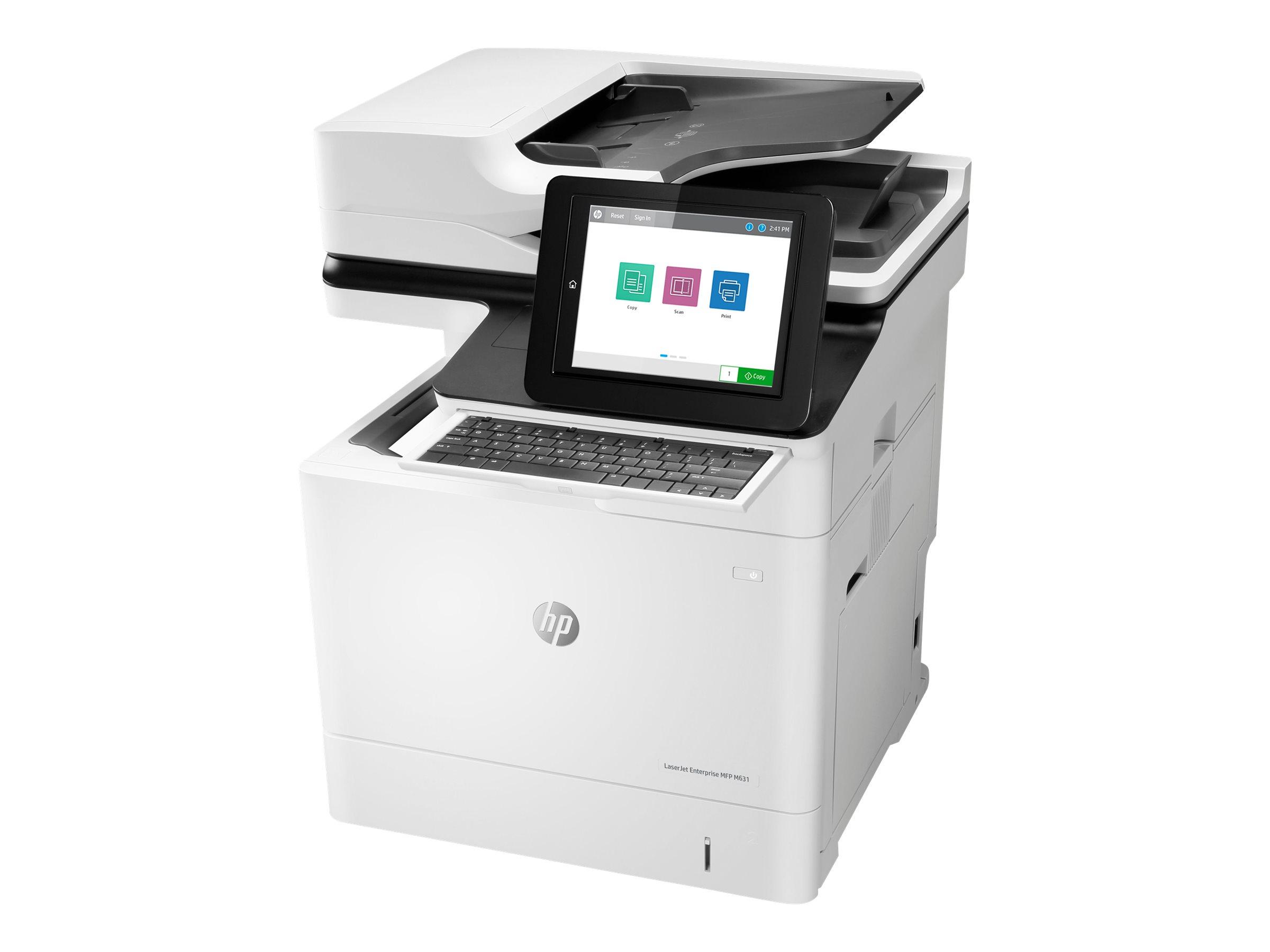 HP LaserJet Enterprise Flow MFP M631h - Multifunktionsdrucker - s/w - Laser - 216 x 863 mm (Original)