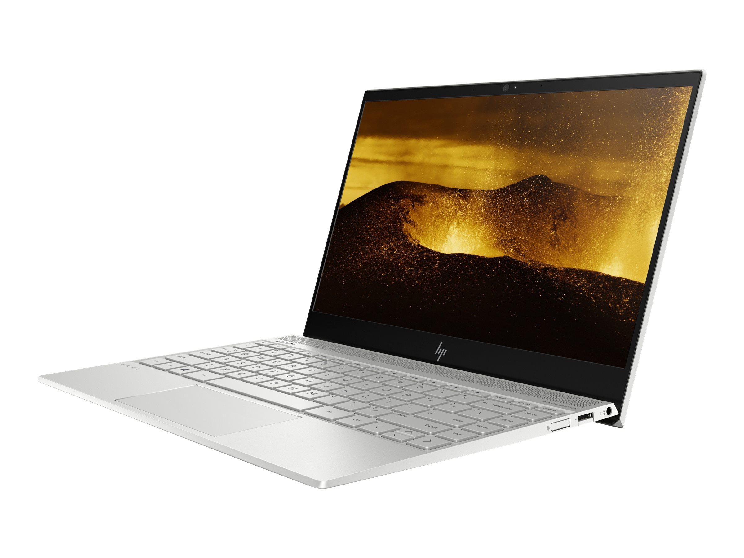 """HP Envy 13-ah1001ng - Core i5 8265U / 1.6 GHz - Win 10 Home 64-Bit - 8 GB RAM - 256 GB SSD NVMe - 33.8 cm (13.3"""")"""