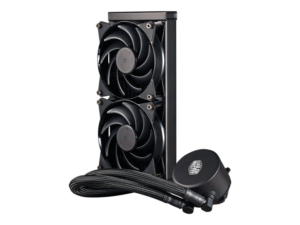 Cooler Master MasterLiquid 240 - Prozessor-Flüssigkeitskühlsystem - (für: LGA775, LGA1156, AM2, AM2+, LGA1366, AM3, LGA1155, AM3+, LGA2011, FM1, FM2, LGA1150, FM2+, LGA2011-3, LGA1151, AM4, LGA2066)