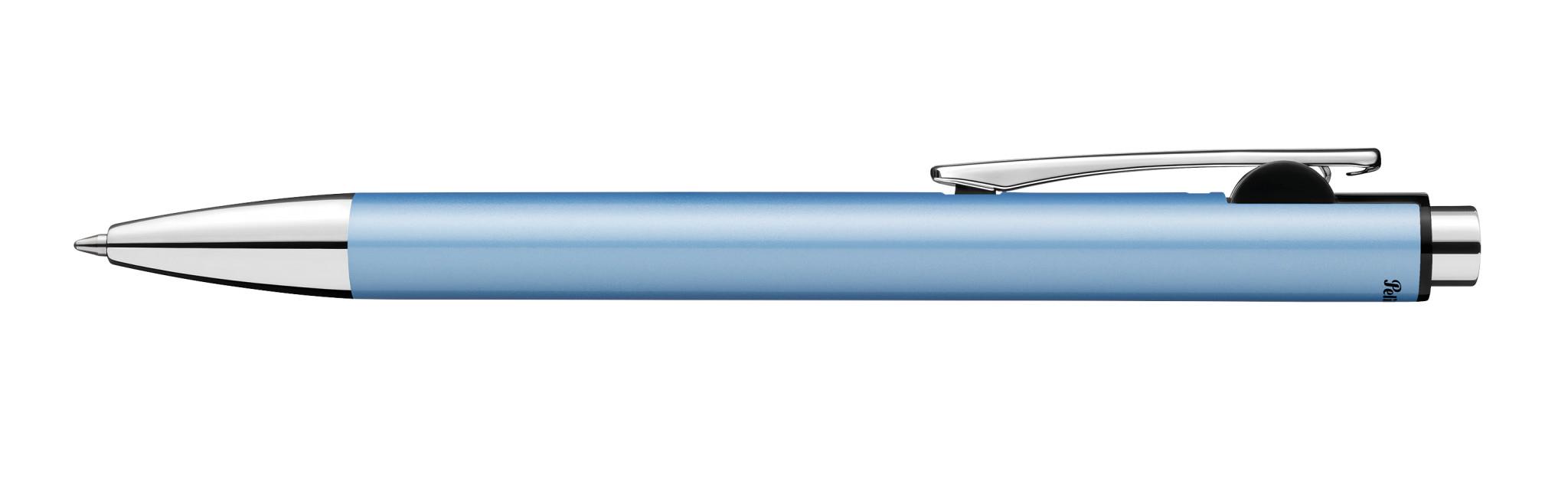 Pelikan Snap - Clip - Clip-on-Einziehkugelschreiber - Nachfüllbar - Blau - 1 Stück(e) - Medium
